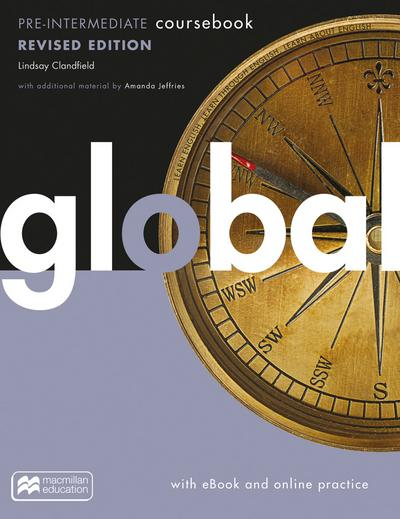 Global revised edition: Pre-Intermediate / Student's Book with ebook and MPO Code