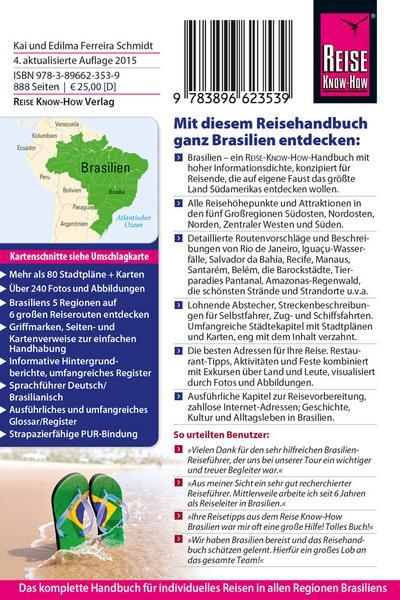 Brasilien; Reiseführer; Deutsch