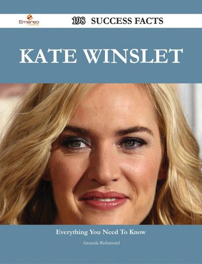 Kate Winslet 198 Success Facts - Everything you need to know about Kate Winslet