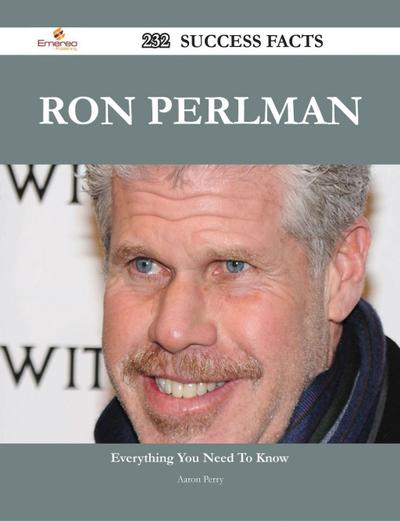 Ron Perlman 232 Success Facts - Everything you need to know about Ron Perlman