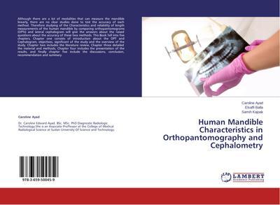 Human Mandible Characteristics in Orthopantomography and Cephalometry