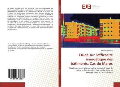 Etude sur l'efficacité énergétique des bâtiments: Cas du Maroc