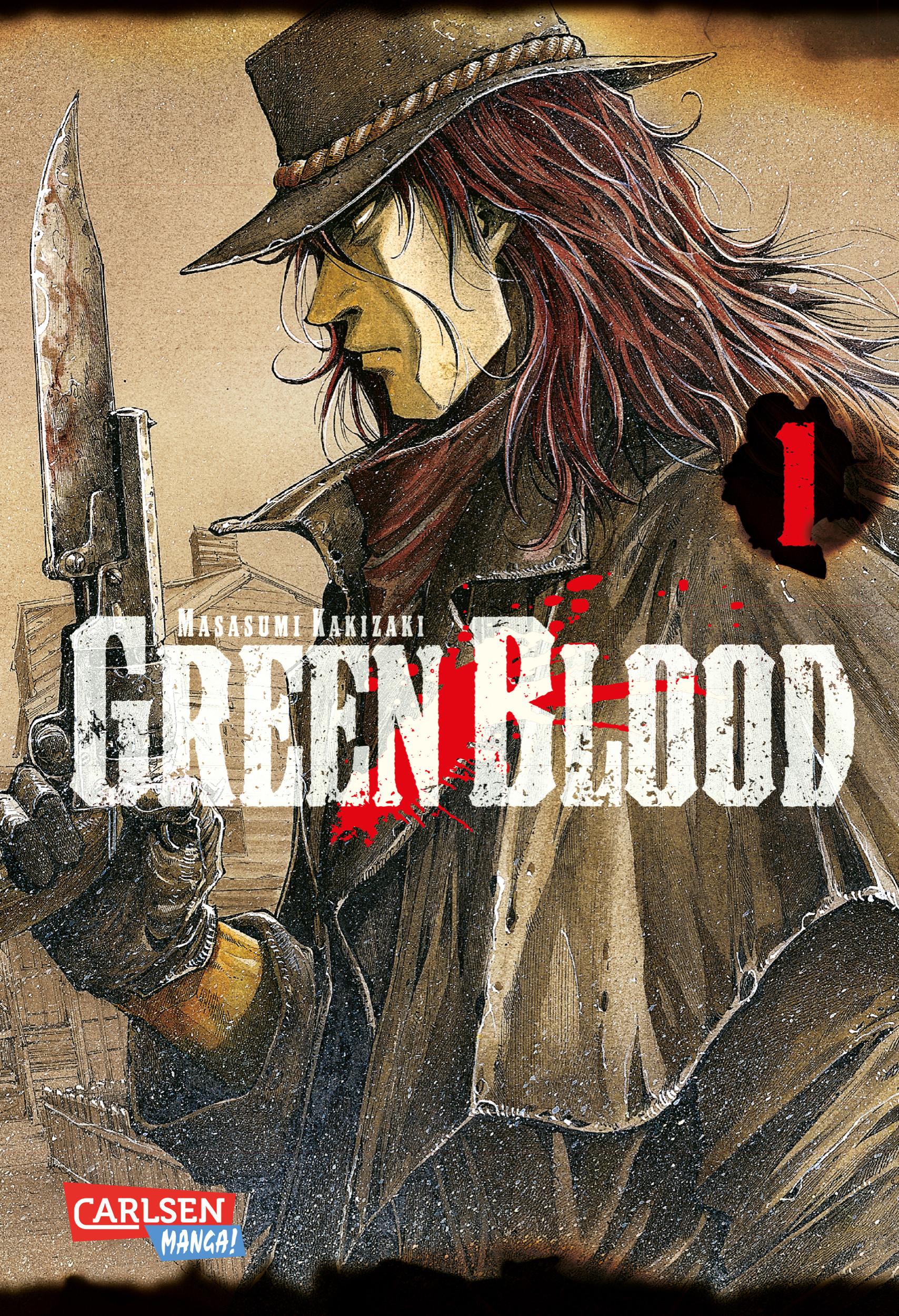 Green Blood, Band 1 Masasumi Kakizaki