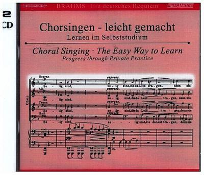 Ein Deutsches Requiem op.45, Chorstimme Sopran, 2 Audio-CDs