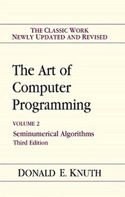 Art of Computer Programming, Volume 2