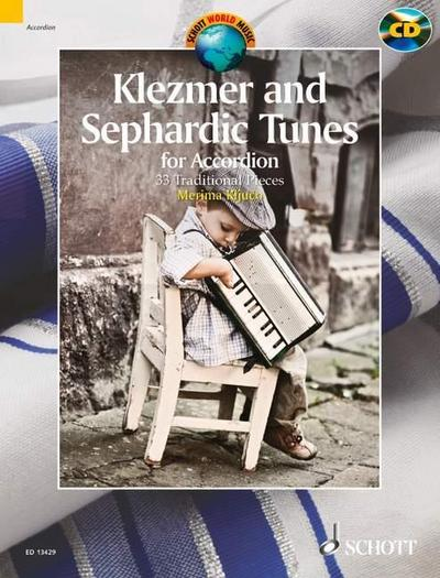Klezmer and Sephardic Tunes, Akkordeon, m. Audio-CD