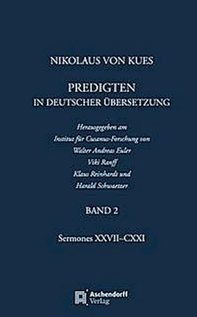 Nikolaus von Kues: Predigten in deutscher Übersetzung