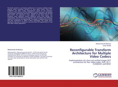Reconfigurable Transform Architecture for Multiple Video Codecs