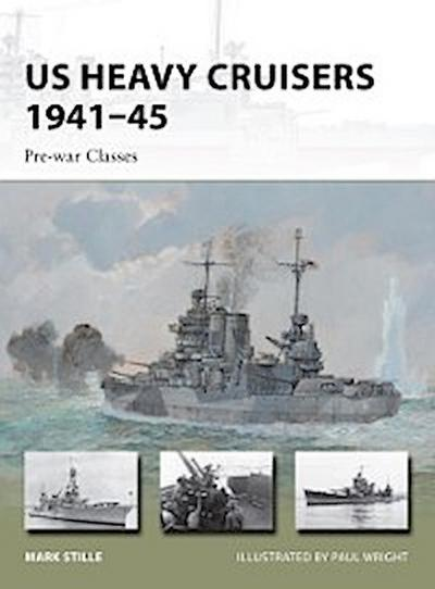 US Heavy Cruisers 1941 45