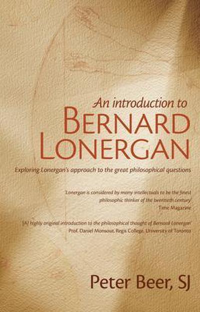 An Introduction to Bernard Lonergan