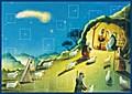Mein Adventskalender - Hirten an der Krippe; Ill. v. Ferri, Giuliano; Deutsch; Durchgeh. farbig