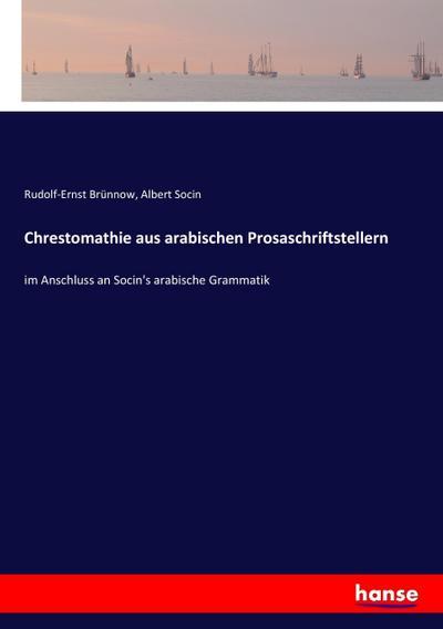 Chrestomathie aus arabischen Prosaschriftstellern