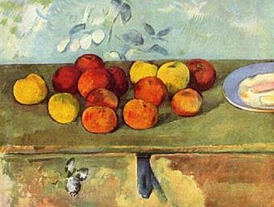 Paul Cézanne - Stilleben mit Äpfeln und Gebäck - 200 Teile (Puzzle)
