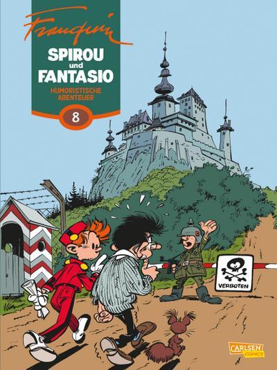Spirou & Fantasio Gesamtausgabe 08: Humoristische Abenteuer