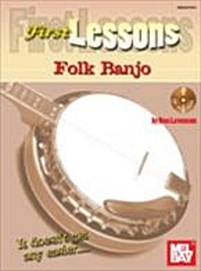 First Lessons Folk Banjo