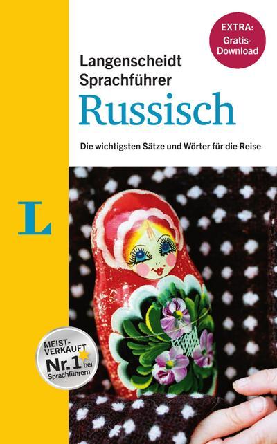 """Langenscheidt  Sprachführer Russisch - Buch inklusive E-Book zum Thema """"Essen & Trinken"""": Die wichtigsten Sätze und Wörter für die Reise"""