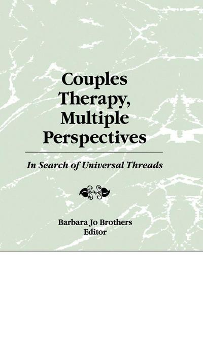Couples Therapy, Multiple Perspectives