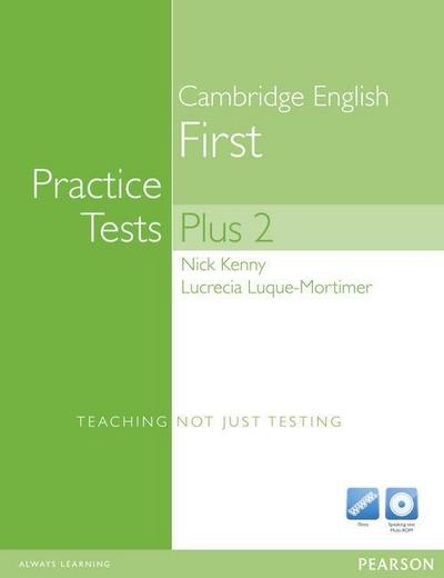 Practice Tests Plus FCE 2 Book (no Key) and Multi-ROM [Taschenbuch] by Luque-...