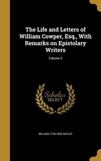 LIFE & LETTERS OF WILLIAM COWP