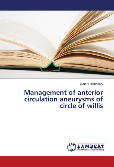 Management of anterior circulation aneurysms of circle of willis