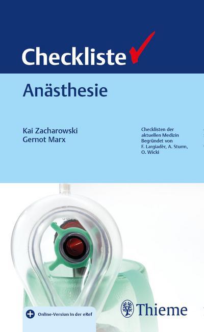 Checkliste Anästhesie