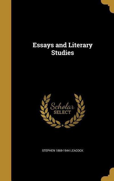 ESSAYS & LITERARY STUDIES