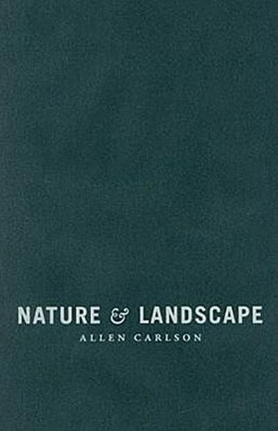 Carlson, A: Nature and Landscape