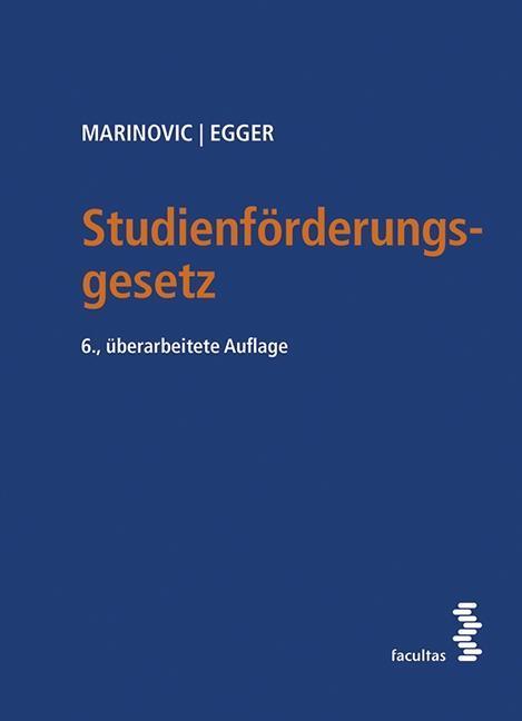Studienförderungsgesetz - Alexander Marinovic -  9783708912684