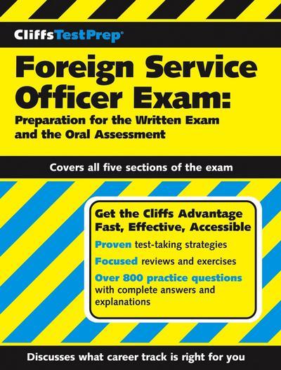CliffsTestPrep Foreign Service Officer Exam