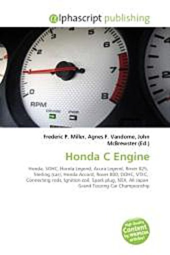 Honda C Engine - Frederic P. Miller -  9786130745967