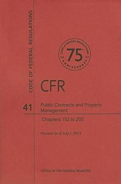 Public Contracts and Property Management, Chapters 102 to 200
