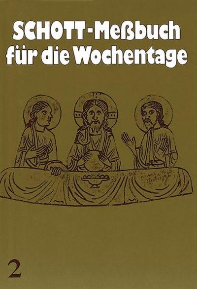 Schott-Messbuch für die Wochentage. Teil II: 14. bis 34. Woche im Jahreskreis. Originaltexte der authent. dt  Ausgabe des Meßbuches u. des Lektionars