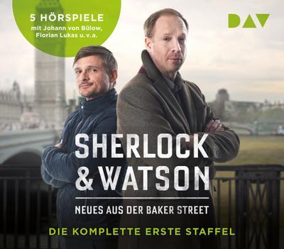 Sherlock & Watson: Neues aus der Baker Street - Die komplette erste Staffel