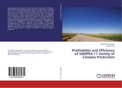 Profitability and Efficiency of SAMPEA-11 Variety of Cowpea Production