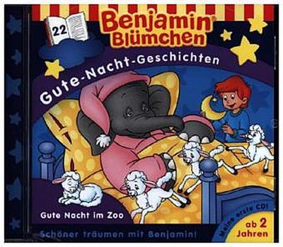 Benjamin Blümchen. Gute-Nacht-Geschichten 22: Gute Nacht im Zoo
