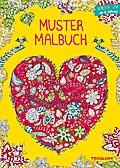 Mustermalbuch Natur; Kreativer Ausmalspaß ab 8 Jahren; Malbücher und -blöcke; Ill. v. Schmidt, Sandra; Deutsch; s/w