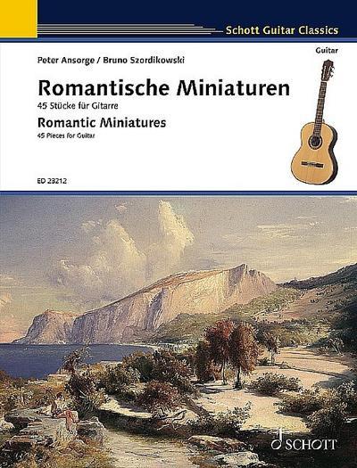 Romantische Miniaturen. Gitarre.