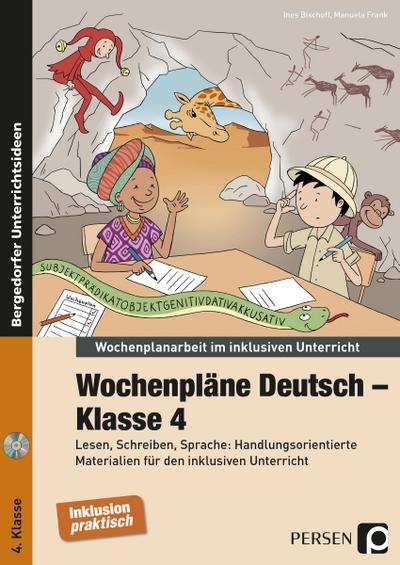 Wochenpläne Deutsch - Klasse 4