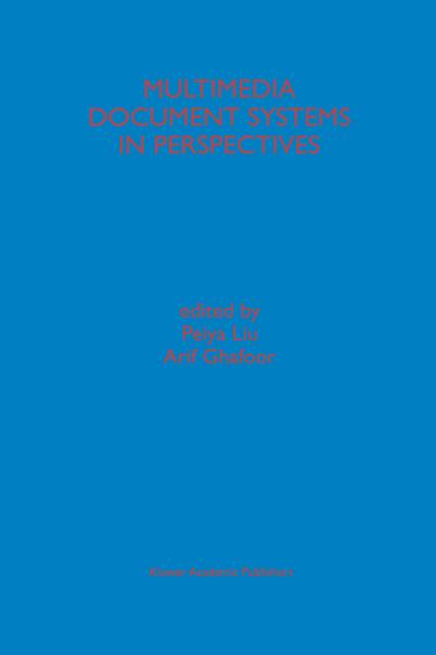 Multimedia Document Systems in Perspectives