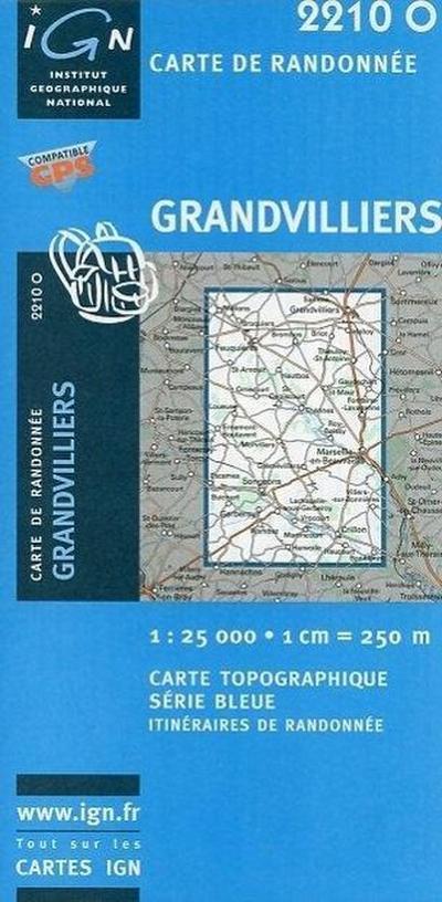 Grandvilliers 1 : 25 000