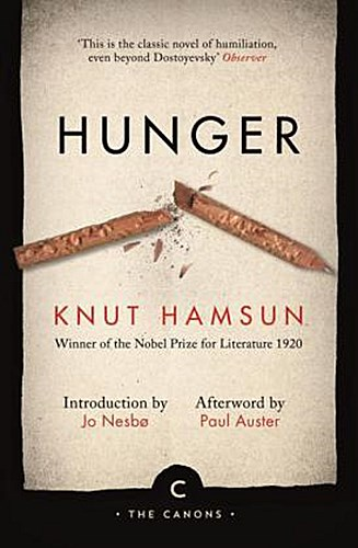 Hunger, English edition Knut Hamsun