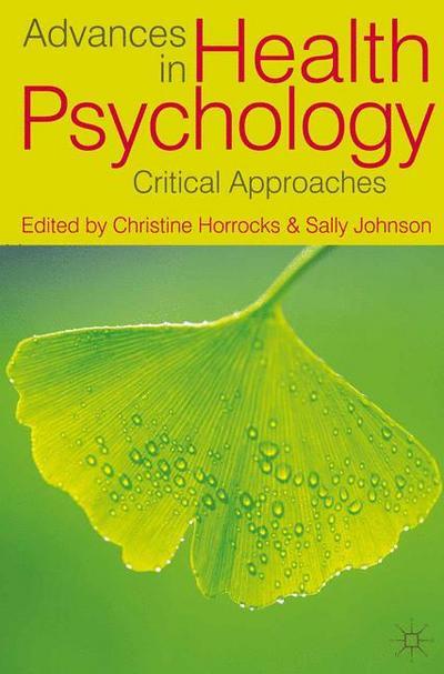 Advances in Health Psychology