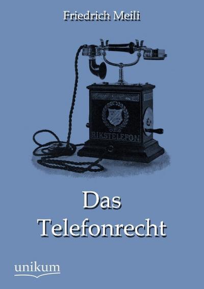 Das Telefonrecht
