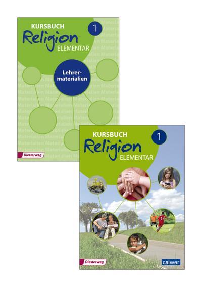 Kursbuch Religion Elementar, Ausgabe 2016 5./6. Schuljahr, Schülerband + Lehrermaterialien, 2 Bde.