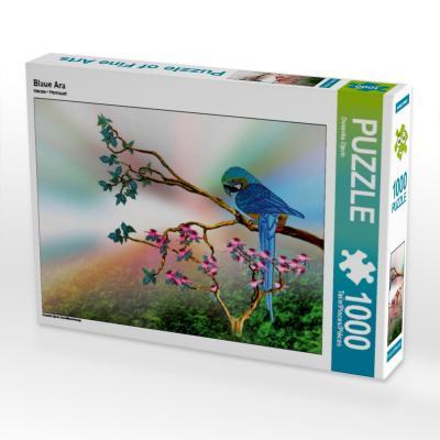 Blaue Ara (Puzzle)