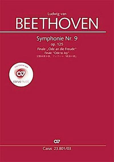 Symphonie Nr. 9. Finale, Klavierauszug zu allen gängigen Ausgaben