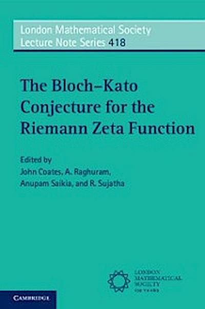Bloch-Kato Conjecture for the Riemann Zeta Function