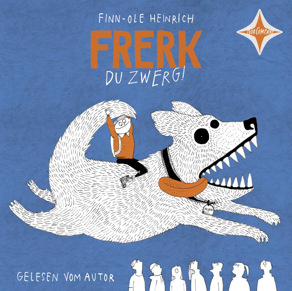 NEU Frerk, du Zwerg! Finn-Ole Heinrich 587143