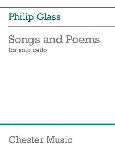Songs and Poems :for cello