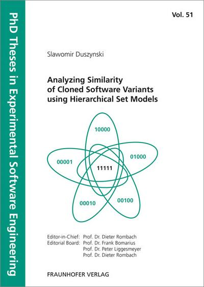 Analyzing Similarity of Cloned Software Variants using Hierarchical Set Models